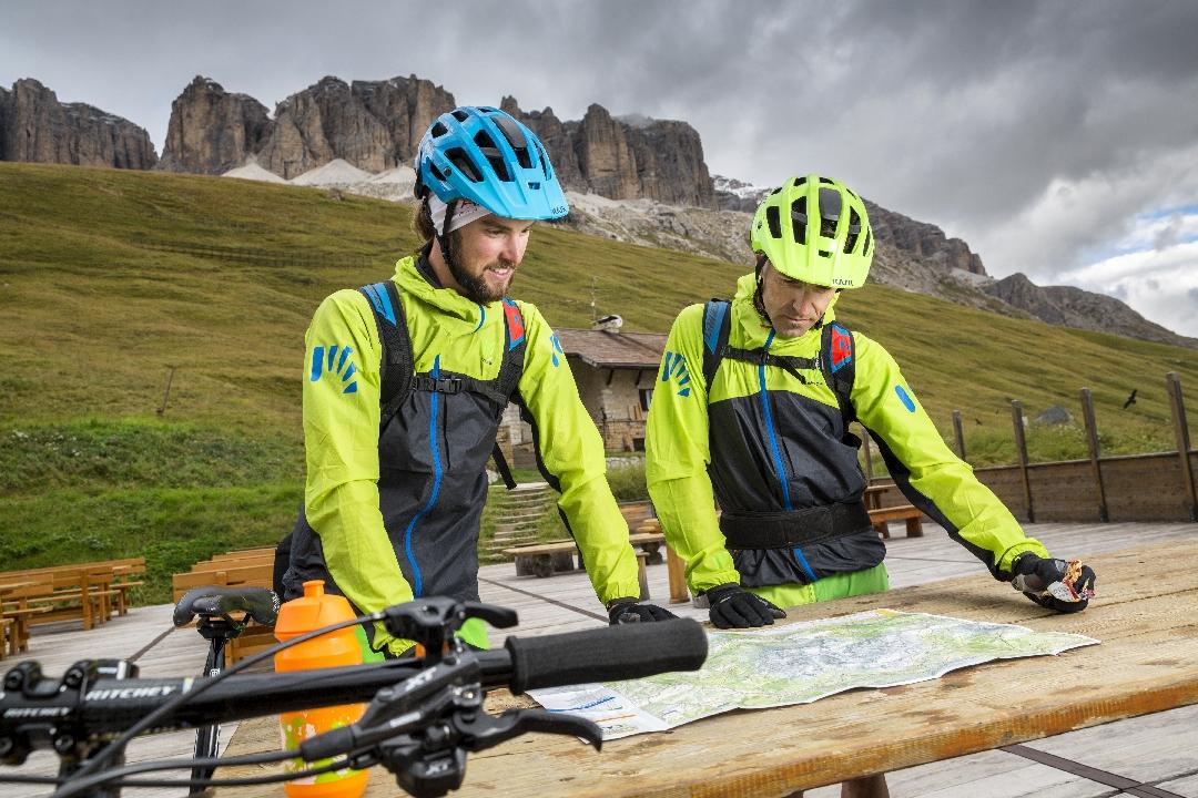 Mountain Bike studiare il tour
