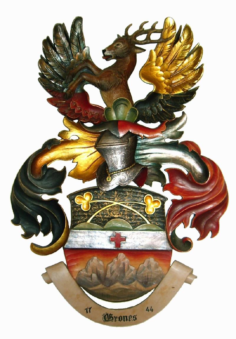 Wappen der Familie Grones