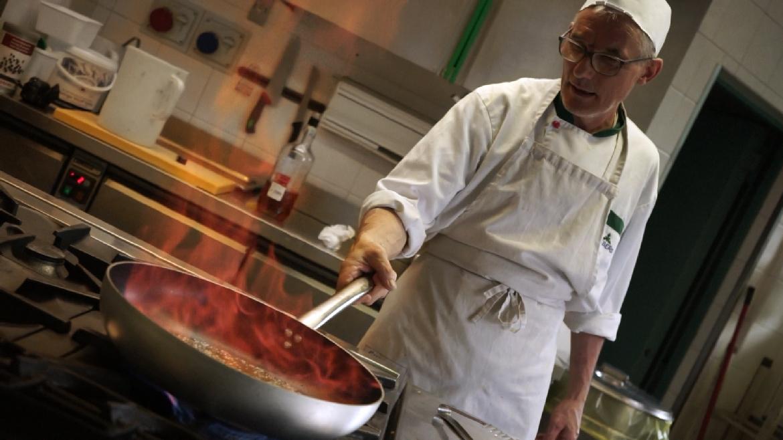 Ristorante Olympia cuoco Marzio